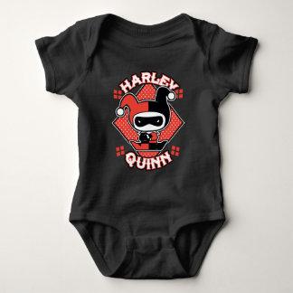 Chibi Harley Quinn Splits Baby Bodysuit