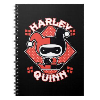 Chibi Harley Quinn Splits Notebook