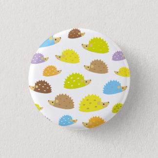 chibi hedgehog 1 inch round button