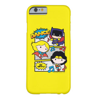 Chibi Heroes Dancing Barely There iPhone 6 Case