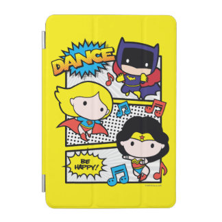 Chibi Heroes Dancing iPad Mini Cover