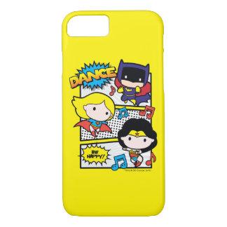 Chibi Heroes Dancing iPhone 8/7 Case