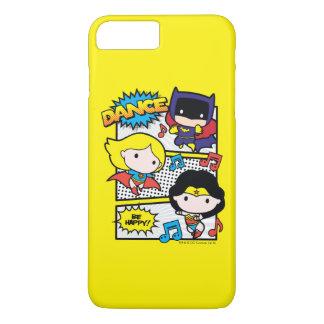 Chibi Heroes Dancing iPhone 8 Plus/7 Plus Case