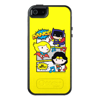 Chibi Heroes Dancing OtterBox iPhone 5/5s/SE Case