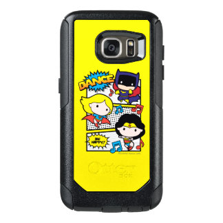 Chibi Heroes Dancing OtterBox Samsung Galaxy S7 Case