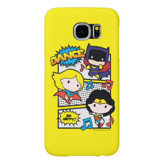 Chibi Heroes Dancing Samsung Galaxy S6 Cases