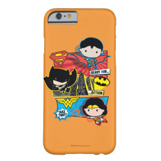 Chibi Heroes Ready For Action! Barely There iPhone 6 Case