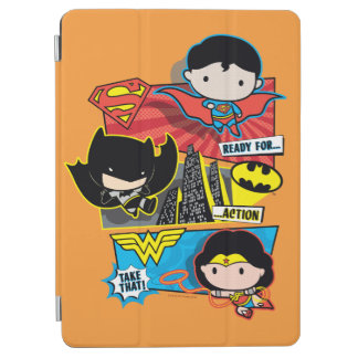 Chibi Heroes Ready For Action! iPad Air Cover