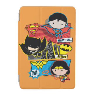 Chibi Heroes Ready For Action! iPad Mini Cover