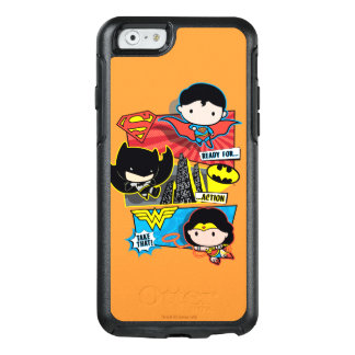 Chibi Heroes Ready For Action! OtterBox iPhone 6/6s Case