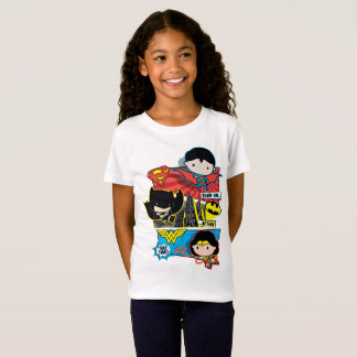 Chibi Heroes Ready For Action! T-Shirt