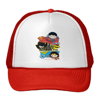 Chibi Heroes Ready For Action! Trucker Hat