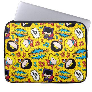 Chibi Heroine Dance Pattern Laptop Sleeve