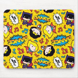 Chibi Heroine Dance Pattern Mouse Pad