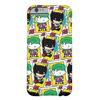 Chibi Joker and Batman Playing Card Pattern Barely There iPhone 6 Case