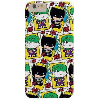 Chibi Joker and Batman Playing Card Pattern Barely There iPhone 6 Plus Case