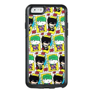 Chibi Joker and Batman Playing Card Pattern OtterBox iPhone 6/6s Case