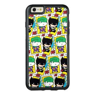 Chibi Joker and Batman Playing Card Pattern OtterBox iPhone 6/6s Plus Case