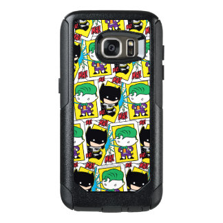 Chibi Joker and Batman Playing Card Pattern OtterBox Samsung Galaxy S7 Case