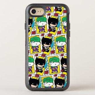 Chibi Joker and Batman Playing Card Pattern OtterBox Symmetry iPhone 8/7 Case