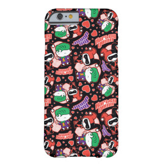 Chibi Joker and Harley Heart Pattern Barely There iPhone 6 Case