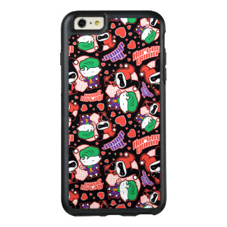 Chibi Joker and Harley Heart Pattern OtterBox iPhone 6/6s Plus Case