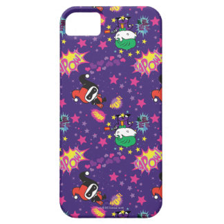 Chibi Joker and Harley Pattern iPhone 5 Cases