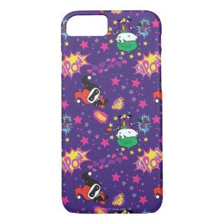 Chibi Joker and Harley Pattern iPhone 8/7 Case