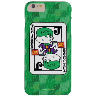 Chibi Joker Playing Card Barely There iPhone 6 Plus Case