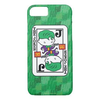 Chibi Joker Playing Card iPhone 8/7 Case