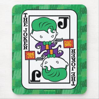 Chibi Joker Playing Card Mouse Pad