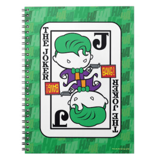 Chibi Joker Playing Card Notebooks