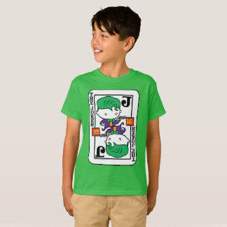Chibi Joker Playing Card T-Shirt