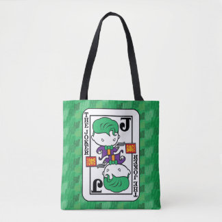 Chibi Joker Playing Card Tote Bag