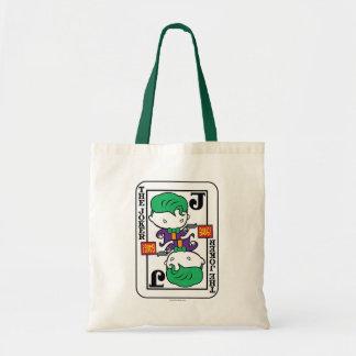 Chibi Joker Playing Card Tote Bag