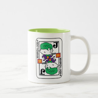 Chibi Joker Playing Card Two-Tone Coffee Mug
