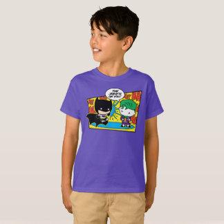 Chibi Joker Pranking Chibi Batman T-Shirt