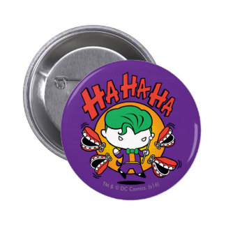 Chibi Joker With Toy Teeth 2 Inch Round Button