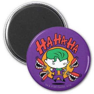 Chibi Joker With Toy Teeth Magnet