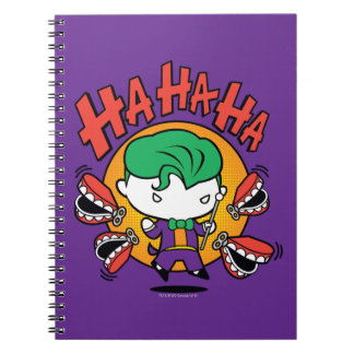Chibi Joker With Toy Teeth Notebook