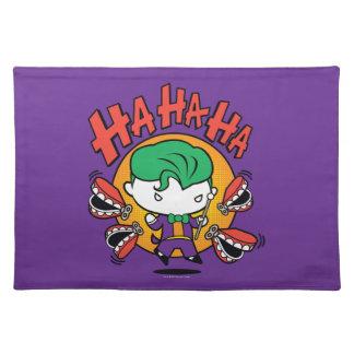 Chibi Joker With Toy Teeth Placemat