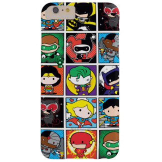 Chibi Justice League Character Pattern Barely There iPhone 6 Plus Case