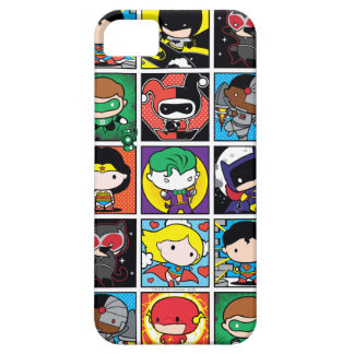 Chibi Justice League Character Pattern iPhone 5 Cases