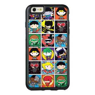 Chibi Justice League Character Pattern OtterBox iPhone 6/6s Plus Case