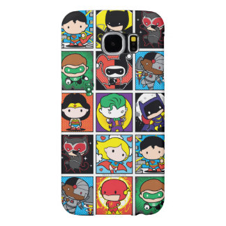Chibi Justice League Character Pattern Samsung Galaxy S6 Cases