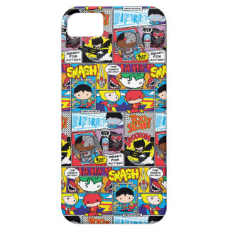 Chibi Justice League Comic Book Pattern Case For The iPhone 5