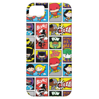 Chibi Justice League Compilation Pattern Case For The iPhone 5