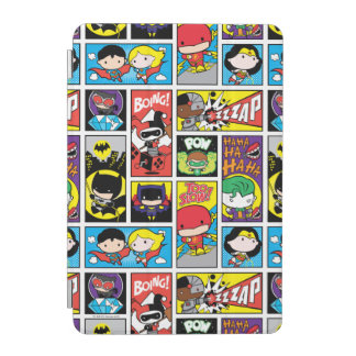 Chibi Justice League Compilation Pattern iPad Mini Cover