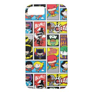 Chibi Justice League Compilation Pattern iPhone 7 Case