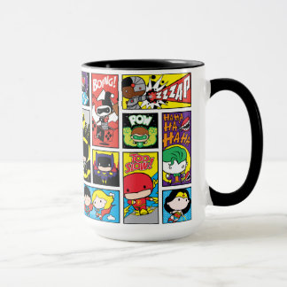 Chibi Justice League Compilation Pattern Mug